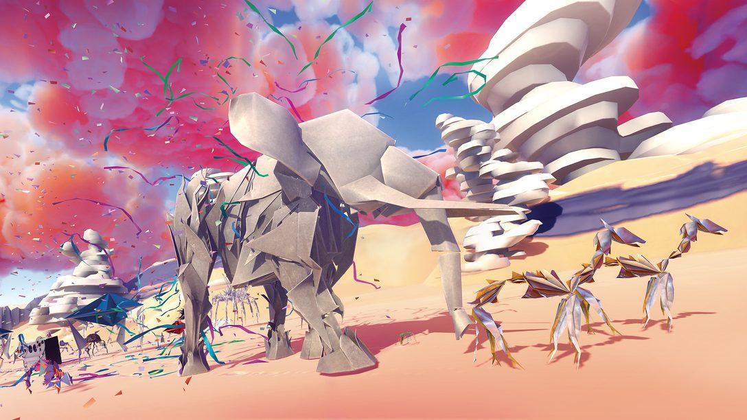 Por Dentro do Mundo Surreal de Paper Beast, Chegando Amanhã ao PS VR