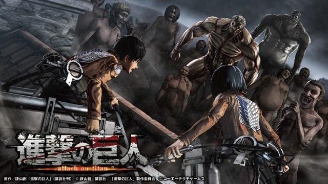 【特集第6回】ゲーム『進撃の巨人』本日発売! 人類の存亡を懸け、いざ巨人たちとの戦いの世界へ!