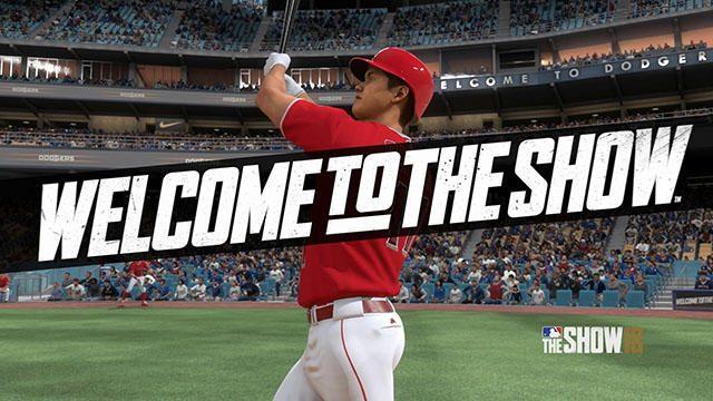 『MLB® THE SHOW™ 18(英語版)』好評配信中! これを記念して、大谷翔平選手の撮影映像を本日より公開!
